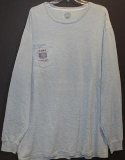 Polo Ralph Lauren Big and Tall Mens Faded Blue Polo Eagle L/