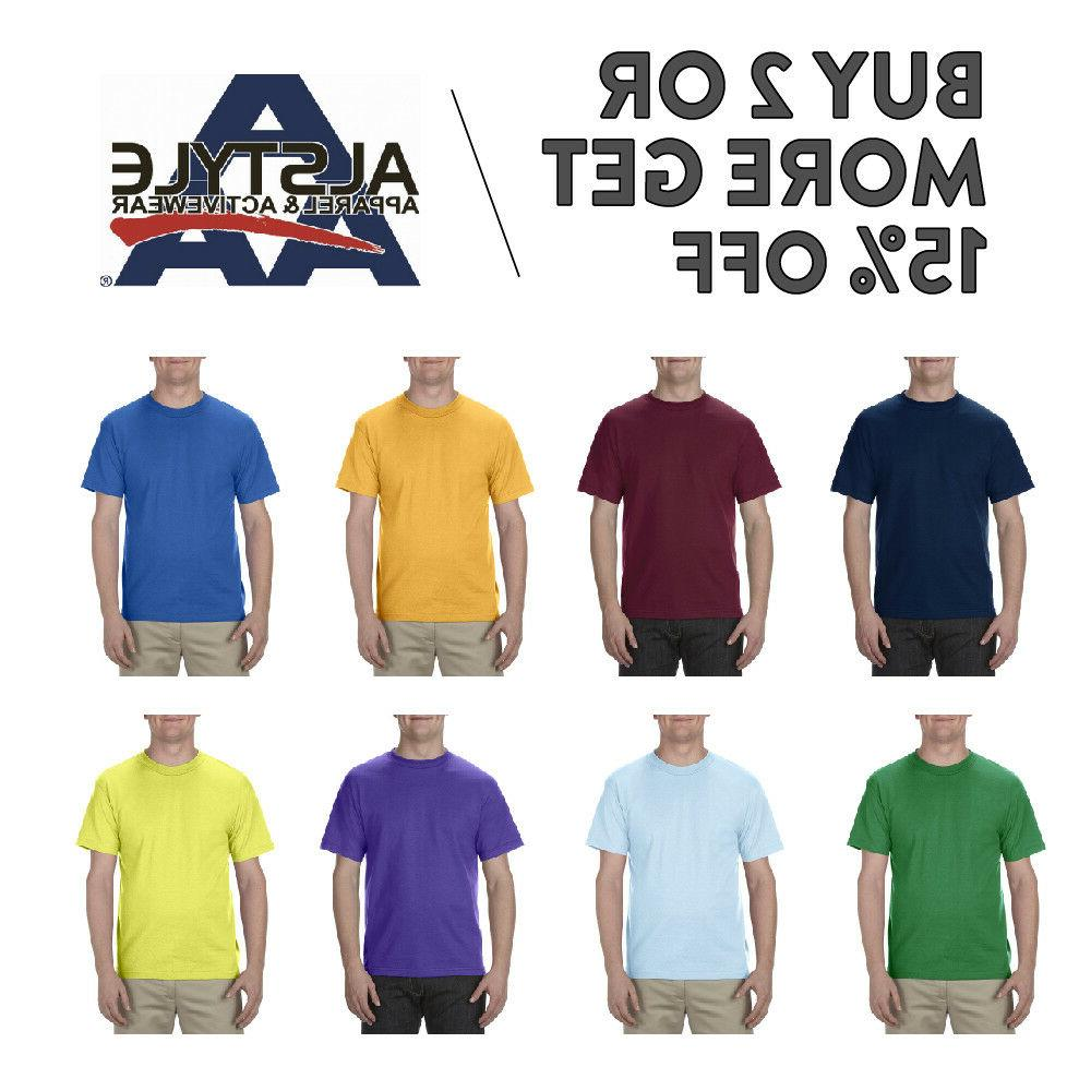 aaa alstyle 1301 mens casual t shirt