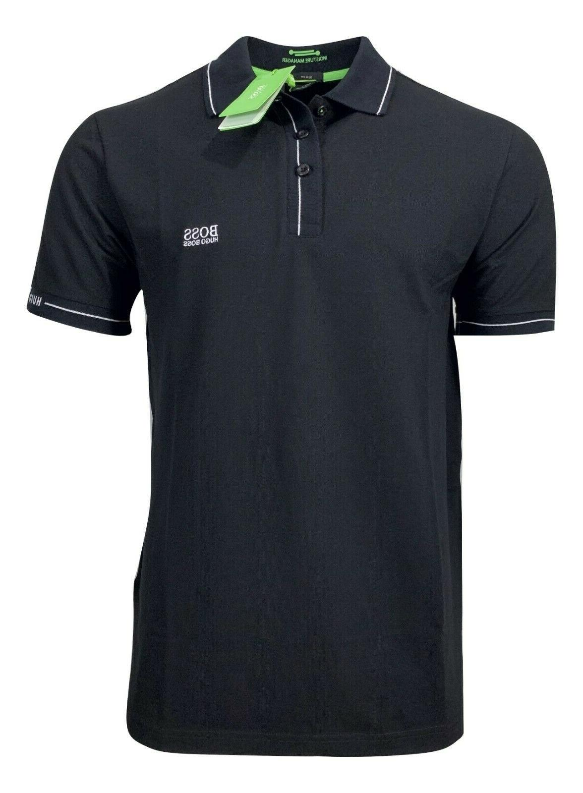 hugo mens paule moisture manager polo shirt