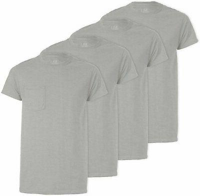 Fruit of Loom Men's T-Shirts 4-PACK COTTON
