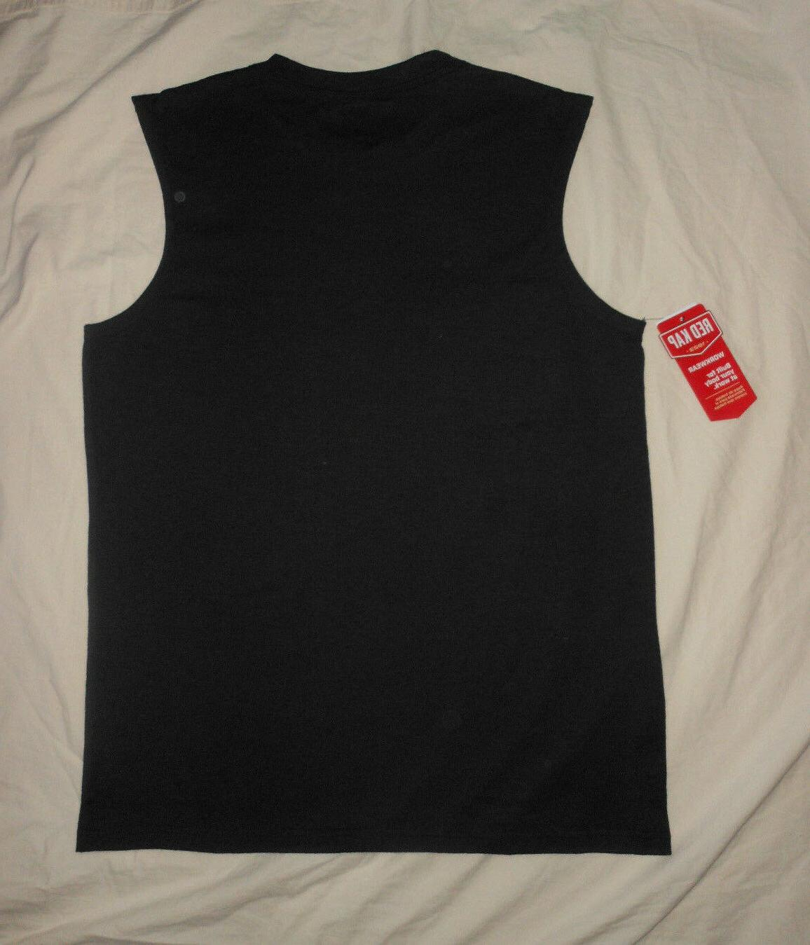 RED Mens NWT Sleeveless Muscle Tee Athletic