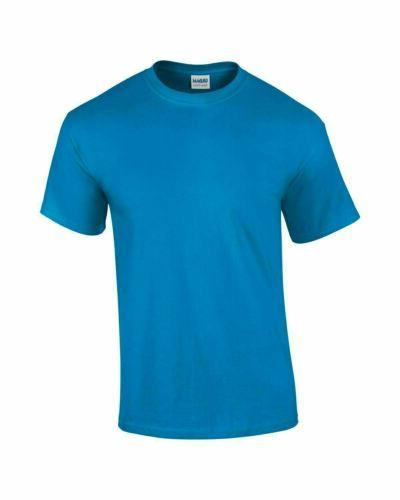 Gildan Mens T 5000 Solid Short Sleeve Blank Tee S-3XL
