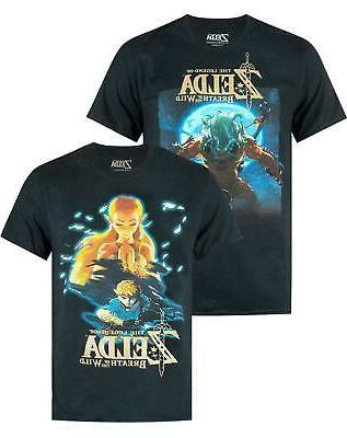 official breath of the wild mens t
