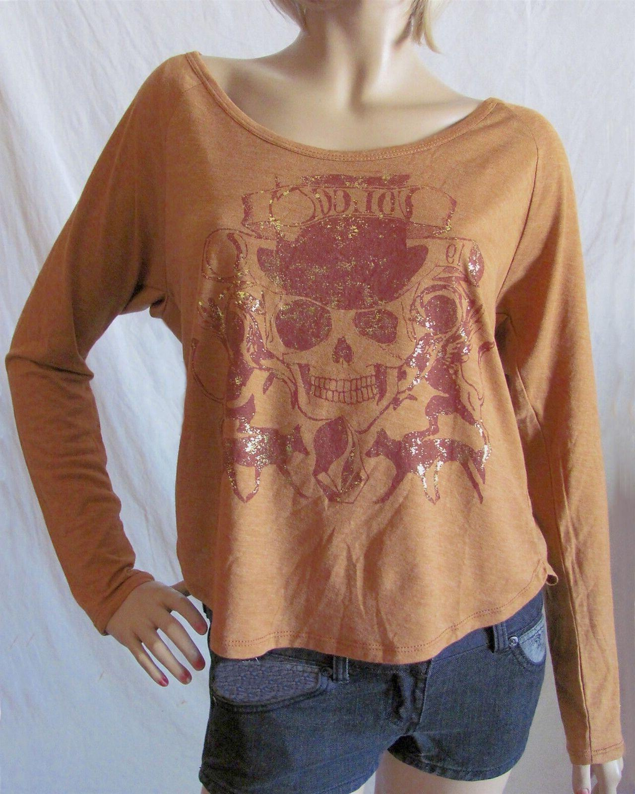 women s jrs brown graphic printed boogey