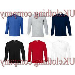 Fruit of the Loom Long Sleeve Valueweight Adult Cotton t-shi