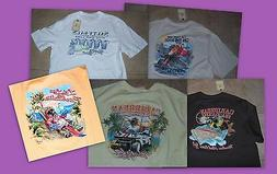 Caribbean Men's 100% Cotton M T-Shirts Pick From Several Fun