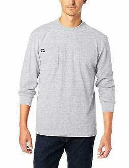 Dickies Men's Big & Tall Long-Sleeve Heavyweight Crew-Ne