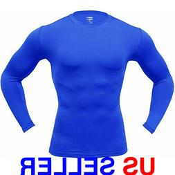ARMEDES Men's Long Sleeve T-Shirt Baselayer Cool Dry Compres