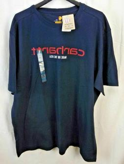 Carhartt Men's Lubbock Graphic Made in USA Short Sleeve T-Sh