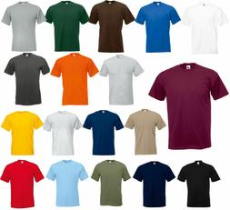 Fruit of the Loom Men's  & Short Sleeves Cotton HD T-Shirt