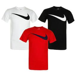 Nike Men's Athletic Wear Short Sleeve Swoosh Graphic Workout