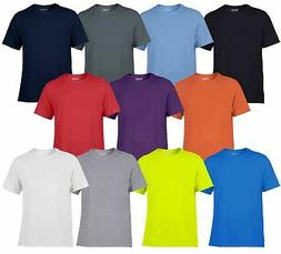 Gildan Mens Adult Performance Plain Rounded Neck T-Shirts 10