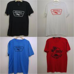 Vans Mens Classic Logo Graphic Skate Surf Off The Wall Tee T