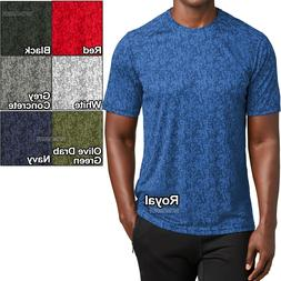 Mens Digital Camo Moisture Wicking T-Shirt Dri Fit Tee XS-XL
