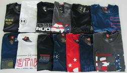 Under Armour Mens Loose Fit Heat Gear Patriotic Tshirts Nwt