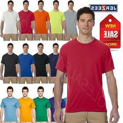 NEW Jerzees Men's Sport 100% Polyester Work out Gym S-XL T-S