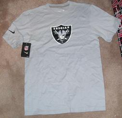 NEW NFL Oakland Raiders T Shirt Men NIKE S Small NEW NWT
