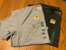 NWT LOT OF 2 MENS CARHARTT T SHIRTS RELAXED FIT SIZE XL, WIC